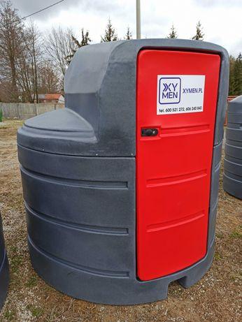 Zbiornik paliwo ON ropę - 2500L i 1500L wersja Standard wersja Plus
