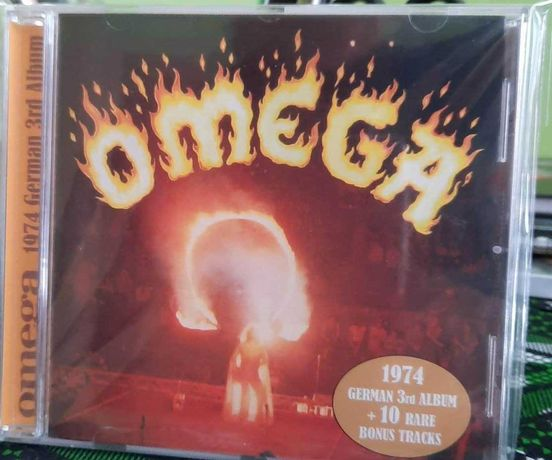 CD OMEGA - German 3rd Album +10). 70 s Progresive Rock HUN. Unikat.