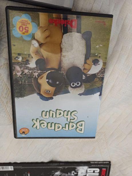 DVD baranek shaun, happy feet