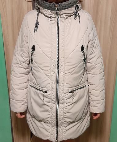 Зимняя Теплая удлиненная курточка