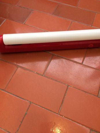 calha de iluminação vermelha com lâmpada 56cm