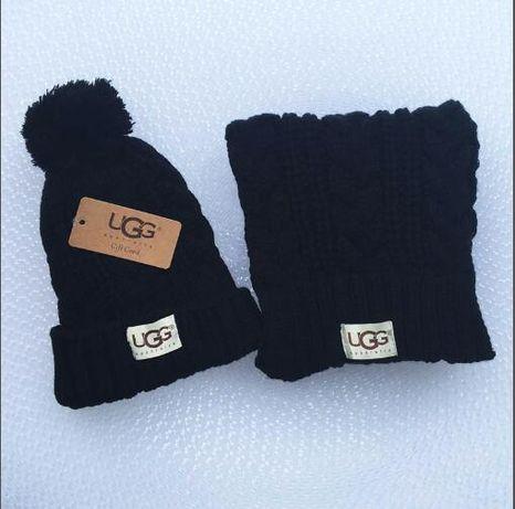 275 UGG komplet czapka i szalik Przezent