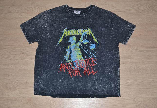 футболка женская Metallica slipknot nirvana misfits oasis