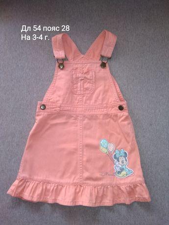 Платья на девочку 3-5 лет