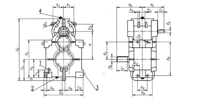 Reduktor Befared WD200 2RS200 pompa szlamowa, rębak
