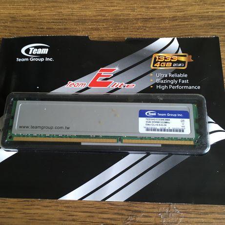 ОЗУ TEAM ELITE DDR3 4096MB 1333MHZ — TED3L4G1333C901