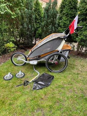 Thule chariot CX1 3w1 przyczepka rowerowa