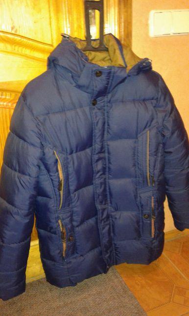 Куртка зимняя подростковая рост 160