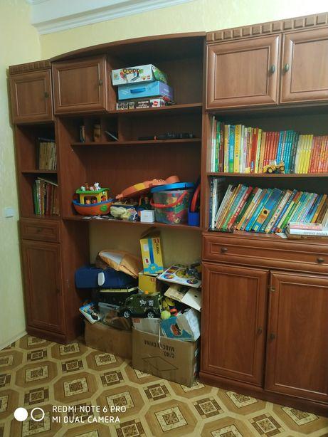 Книжный шкаф и надстройка (детская)