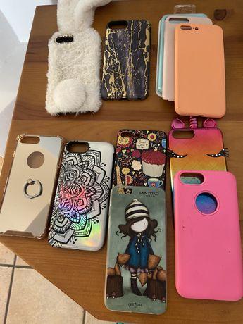 Capas iphone 6 e 7 plus