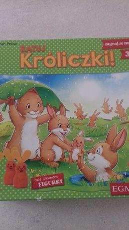 Gra Króliczki/puzzle