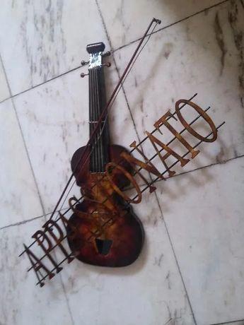 Elemento decorativo forma de violino - Troco