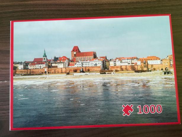 Puzzle panorama Torunia 1000
