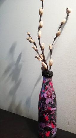 Garrafa decorativa tom abstrato