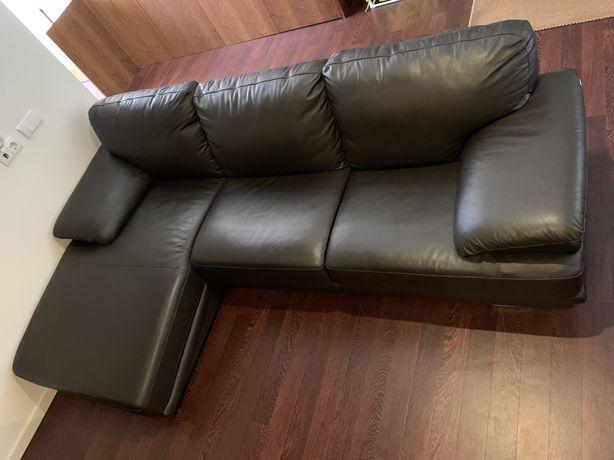 Sofa chaise longue (pouco uso/como novo)