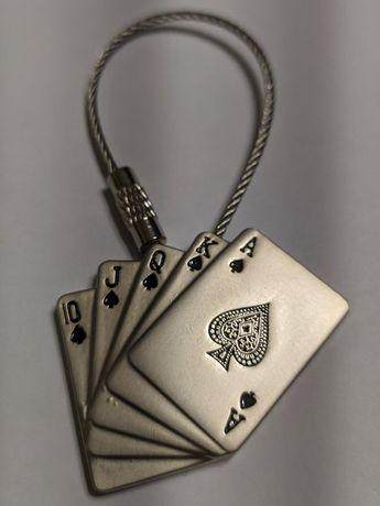 Брелок карты (покер) сувенир, подарок