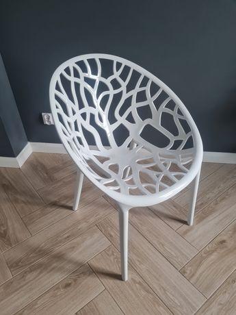 Krzesło IKEA drzewo plastikowe białe