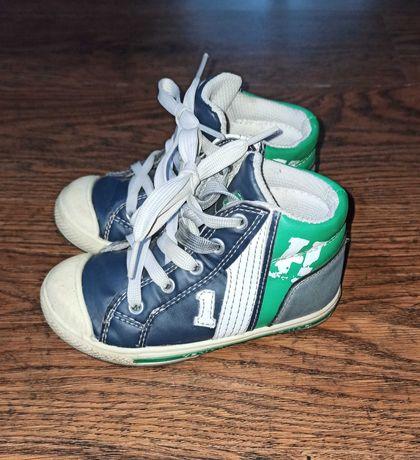 Buty dziecięce trampki wysokie