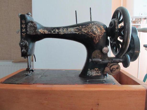 SINGER 1902 г. Ручная швейная машинка