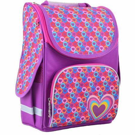 Каркасный ортопедический рюкзак для младшей школы. Пенал в подарок