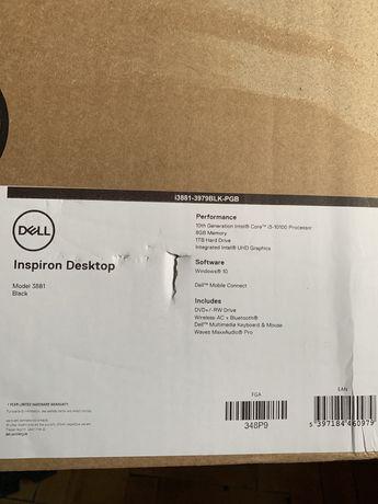 Компактный настольный компьютер Dell Inspiron + клавиатура с мышкой