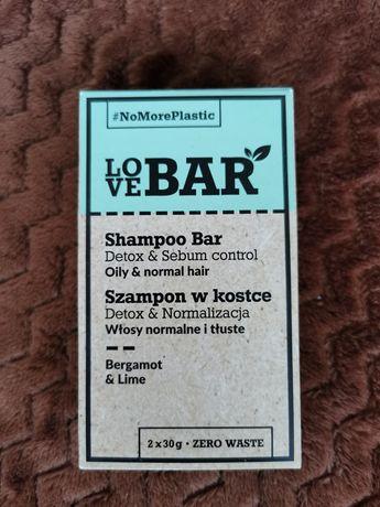 Love Bar szampon w kostce detoks&normalizacja włosy normalne i tłuste