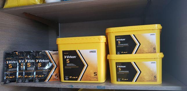 Skuteczne odkażanie budynków, mat-VIRKON S środek dezynfekcyjny 10 kg