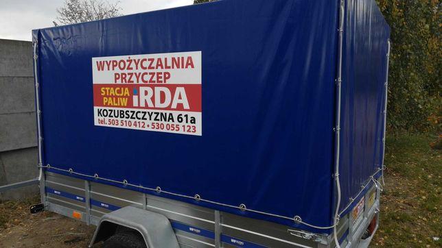 Wypożyczalnia przyczep Kozubszczyzna Motycz Lublin