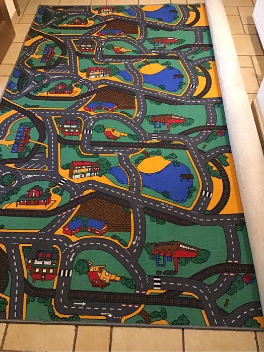 Dywan do pokoju dziecięcego ulice skrzyżowania ronda Działdowo - image 1