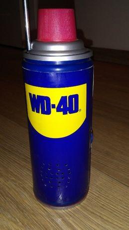 Radio przenośne puszka WD40 na baterie nowe małe radyjko na prezent fm