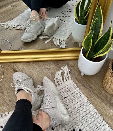 Beżowe buty sneakersy rozmiar 40