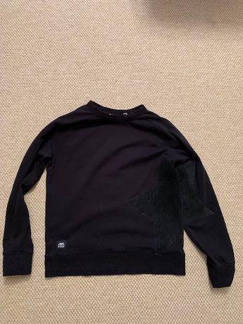 Bluza CHEAP MONDAY czarna z gwiazdka 40/L