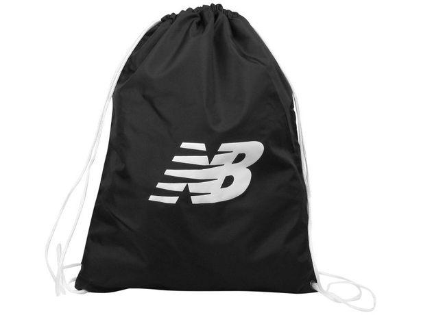 Nowy plecak worek New Balance NB czarny idealny na rower trening