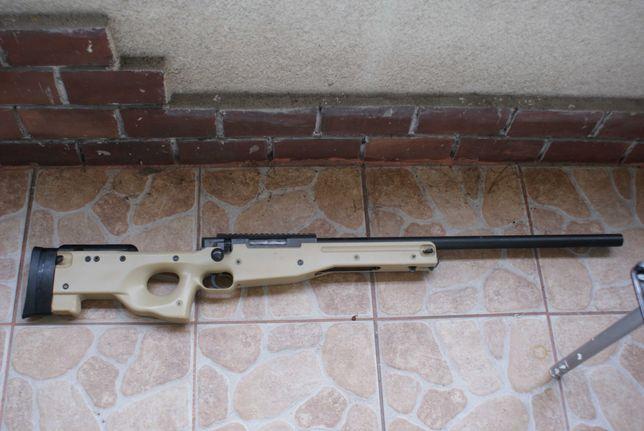 ASG Karabin Snajperski, MB01 z lunetą - tan ,firma  WELL
