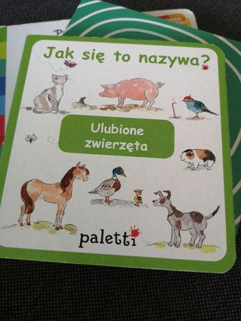 Jak się to nazywa? Paletti ulubione zwierzęta książeczka dla dzieci