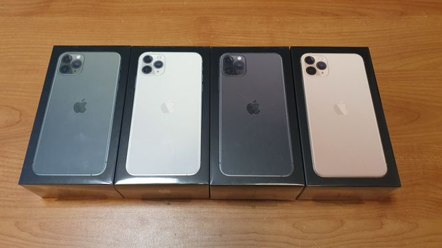 iPhone 11 PRO MAX 64GB Gold, Green, Silver, Space Gray z PL GW W-wa
