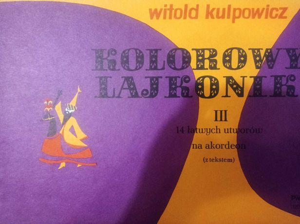 Nuty na akordeon Kolorowy lajkonik z.3 Kulpowicz 1988