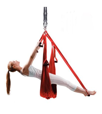 Гамак флай йоги с ручками опт/розница fly yoga ( классика) fly fitness