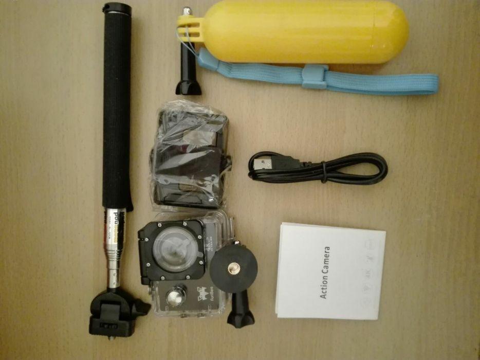 Câmera desportiva 4k wifi 16 megapixels nova