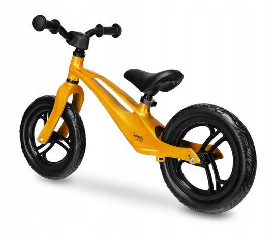 """Rowerek biegowy Magnezowy Bart 12"""" Złoty"""