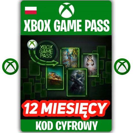 XBOX Game Pass 12 miesięcy KOD ZDRAPKA 365 DNI Xbox One KEY PL