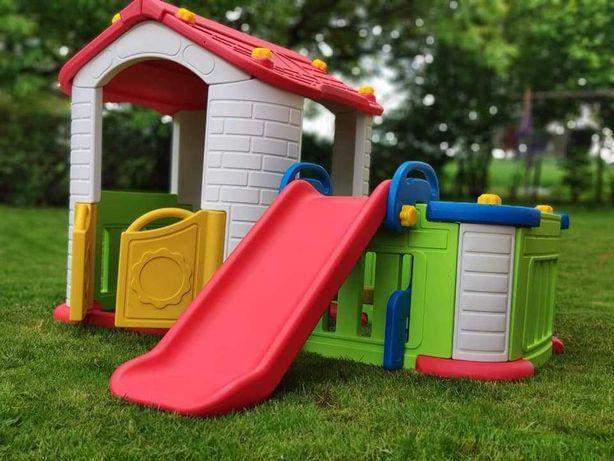 Domek + Zjeżdzalnia dla dzieci 3w1  ZOG.CHD-803