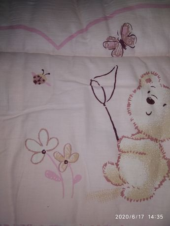 Бортики в детскую кроватку, манеж, 400рублей