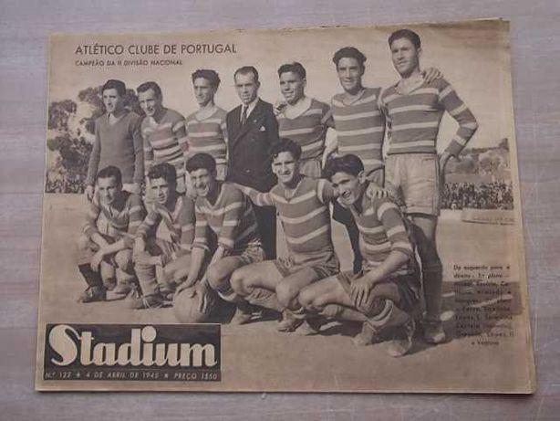 STADIUM nº122 Ano 1945 ATLÉTICO C.P. Campeão II Divisão Nacional