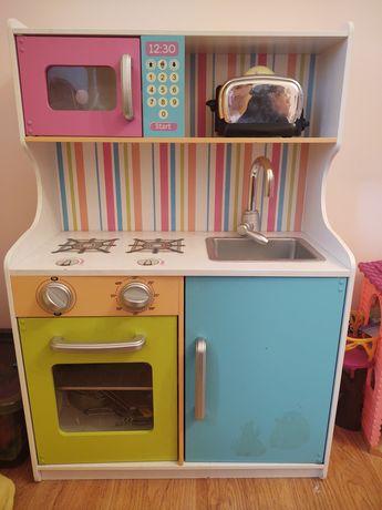 Kuchenka dla dzieci z wyposażeniem