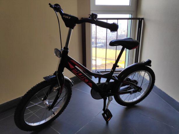 Двухколесный велосипед Puky ZLX 18 Alu black чёрный
