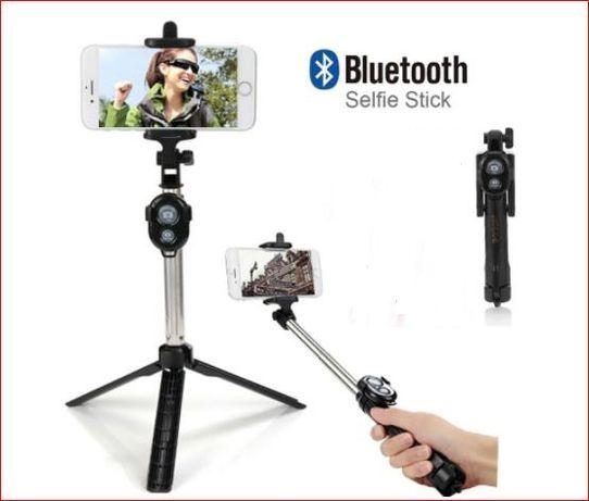 Stick selfie com comando bluetooth