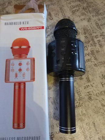 Новый детский микрофон для караоке ws-858