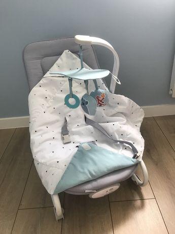 Leżaczek, bujaczek niemowlęcy Kinderkraft - stan idealny
