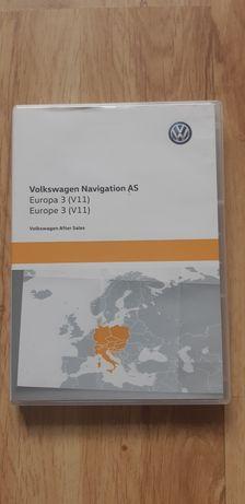 Karta SD Nawigacji Volkswagen Europa3 (V11)
